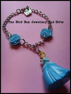 Disneys Cinderella bracelet.  Part of the Hello Kitty jewellery box that was made for  special little girls birthday xx