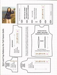 tall-barbie-skirt-and-top-pattern.jpg (1698×2193)