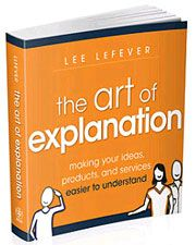book cover-the art of explanation