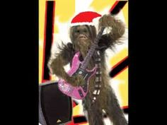 Merry Christmas from Chewbacca!