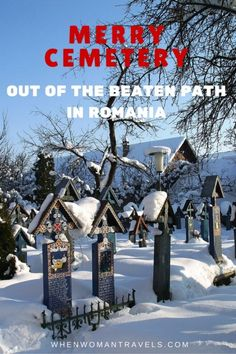 During my four months stay in Romania the place I liked most was a … cemetery. I know, it sounds creepy and most of the time I avoid going to places that make me sad. But Merry Cemetery is neither sad nor creepy. It is in fact the happiest place I have ever seen in Europe!