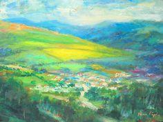 Irish Highland  Landscape Original Stunning! Well Listed American Impressionist #Impressionism Irish Landscape, Impressionist, The Originals, American, Painting, Art, Painting Art, Paintings, Kunst