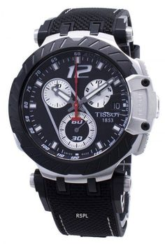 Stainless Steel Case, Swiss Quartz Movement, Analog Display, Chronograph Function, Luminous Hands And Indexes. Seiko 5 Military, Tissot Mens Watch, Tissot T Race, Casio G Shock, Watch Model, Black Crystals, Watches For Men, Unique Watches, Stainless Steel Case