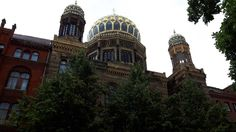 Berliner Synagoge - Follow us on Facebook: https://www.facebook.com/forumofeurope/ #Berlin #Deutschland #germany #europe #eu #travel #city #architecture