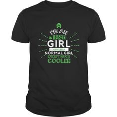 I'm An Irish Girl T-Shirts Gifts For Saint Patrick's Day, Order HERE ==> https://www.sunfrog.com/Holidays/114159795-436046810.html?47759, Please tag & share with your friends who would love it , #redheads #superbowl #birthdaygifts