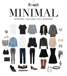 wardrobe How to Dress Better with the Minimalist Wardrobe Challenge —. - wardrobe How to Dress Better with the Minimalist Wardrobe Challenge — The Capsule Projec - French Wardrobe Basics, French Minimalist Wardrobe, French Capsule Wardrobe, Minimal Wardrobe, Classic Wardrobe, Minimalist Wardrobe Essentials, Fall Wardrobe Essentials, Minimalist Clothing, Professional Wardrobe