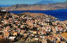 Gialos in Simi island, Greece