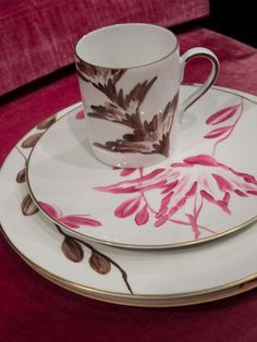 Michael Devine - Dinnerware for Limoge - pattern Charlotte