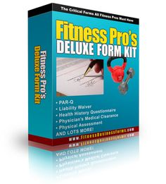 Fitness Business Forms | Business Forms for Personal Trainers and Fitness Professionals
