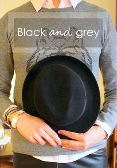 Tall girl's fashion // Black and grey layers. Read more on the blog!