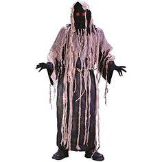 Light-Up Gauze Zombie Adult Costume - One Size  #Adult #AdultCostume #Costume #Gauze #LightUp #Size #Zombie Halloween Spirit