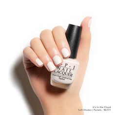 Cloudy with a chance of perfect nails? We'll take it. #SoftShades #ItsIntheCloud