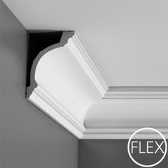 Wider style Pilaster - comprising combination fluted shaft, Corinthian capital and base - see individual parts below for full specification and images Ceiling Coving, Molding Ceiling, Wall Molding, Moldings, Crown Molding Styles, Molding Ideas, Cornice Design, Orac Decor, Ceiling Materials