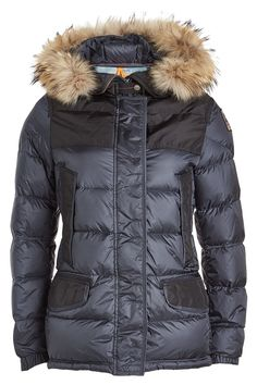 Parajumpers Light Long Bear Jacket Brown Women | Casual Outfits | Pinterest
