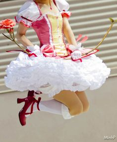 awesome madoka dress :3