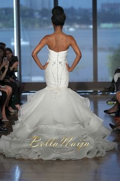 Ines Di Santo Bridal Couture Collection Fall Winter 2014 Aura Finale