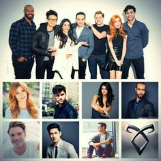 Shadowhunters cast by gwitterr_cat on Twitter