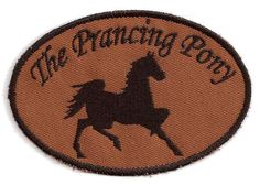 Lord of the Rings Prancing Pony Patch by StoriedThreads on Etsy, $8.00