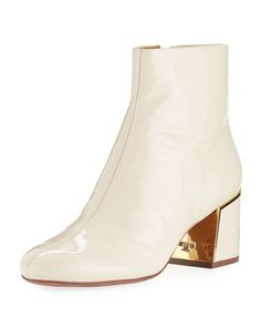 76604574135ec Tory Burch Juliana Patent Leather Booties