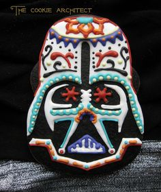 Darth Vader Sugar Skull Cookie: The Cookie Architect