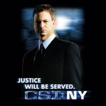 #csiny #popfunk  This design is available as a Tshirt here: $21.00 http://www.popfunk.com/mens-tees/cbs-primetime/csi-new-york/csi-ny-justice-served.html