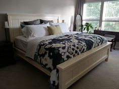 Our Farmhouse bed.