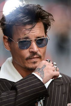 Johnny Depp June 24, 2013 NYC to appear on the Letterman