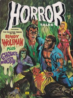Cover for Horror Tales (Eerie Publications, 1969 series) #v5#2