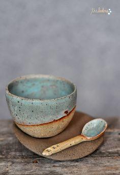 Pottery Mugs, Pottery Bowls, Ceramic Pottery, Pottery Art, Slab Pottery, Thrown Pottery, Pottery Studio, Ceramic Spoons, Ceramic Clay