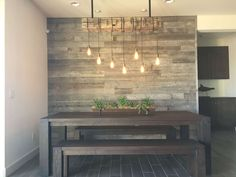 living room wood wall paneling awesome accent wall ideas to transform your living room future home dining wall decor home decor reclaimed wood accent wall living room with half wall wood paneling Decor, Reclaimed Wood Accent Wall, Accent Wall, Wood Walls Living Room, Rustic Kitchen Design, Dining Room Lighting, Rustic Dining Room Lighting, Living Room Wood, Rustic House