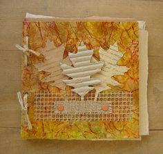 Sam's blog: Faux Leather Handmade Books