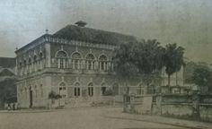 A sede social do Clube Joinville, onde ocorriam os bailes em 1950, na esquina da rua Padre Carlos com a do Príncipe 1950, Painting, On The Corner, World Cup, Santa Catarina, Journaling, Club, Street, Painting Art