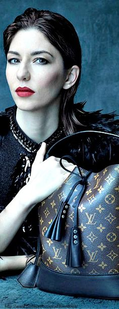 Louis Vuitton Campaign ss2014 - a Tribute to Marc Jacobs' Muses - Sofia Coppola