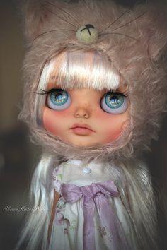 Muñeca de Blythe custom OOAK por Sharon por SharonAvitalDolls
