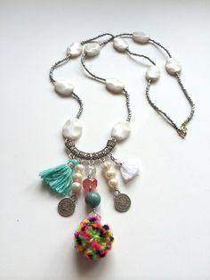 A personal favorite from my Etsy shop https://www.etsy.com/listing/180459641/sienna-necklace