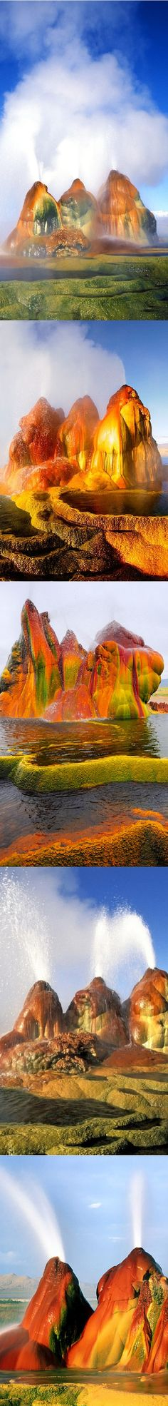 Fly Geyser, Washoe County, Nevada - United State