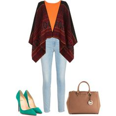 A fashion look from December 2014 featuring Frame Denim jeans, Christian Louboutin pumps and MICHAEL Michael Kors tote bags. Browse and shop related looks.