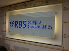 Glass Signage | Olympiad Signs