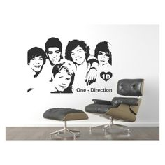 Are you a fan of #One #Direction? Now you can have them on any wall wherever you want them!