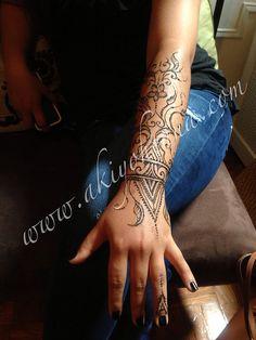 birthday tribal henna :)