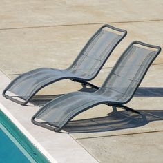 Sarcelles Modern Wicker Patio Chaise Lounges by Corvus