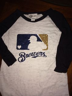 Hey, I found this really awesome Etsy listing at https://www.etsy.com/listing/188331742/milwaukee-brewers-shirt