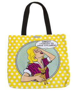 """This durable cotton canvas tote bag features 2-sided print and is extremely roomy.Soft, cotton canvas-like feelFully linedInterior zippered pocketPerfectly-sized to slip over your shoulderSize 16"""" x 16"""""""