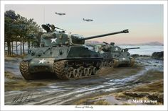 American Medium Tank: M4A3 Sherman (markkarvon on deviantART)