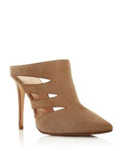 Raye Chloe Cutout High Heel Mules | Bloomingdale's