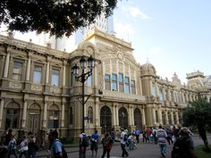Edificio de Correo Central (Post Office). This beautiful building is located on Calle 2, between Avenidas 1 & 3, only one block down from Paseo Colon.