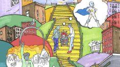 Murals coming to Bronx, Brooklyn aim to 'change the conversation around mental health' - amNewYork Mural Art, Murals, Volunteers, Mental Health, Conversation, Brooklyn, Art Projects, Nyc, Change