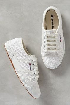 Superga Crochet Sneakers White 8. Sneakers on shopstyle.com