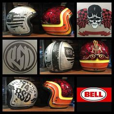 Check out what just landed at Morgan & Wacker Harley-Davidson. Limited edition Bell Custom 500 helmets in RSD 74 & HART LUCK designs. Buy now or cry later! #morganandwacker #bellhelmets #custom500 #rsd #hartluck