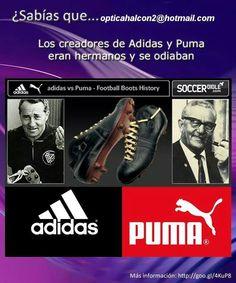 """El creador de adidas se llamaba Adolf Dasler y el nombre de su marca es el diminutivo de su nombre """"Adi"""" y el principio de su apellido """"Das"""""""